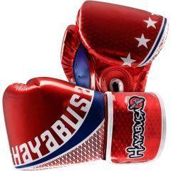 Боксерские перчатки Hayabusa Pro Muay Thai red
