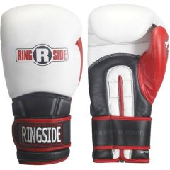 Боксерские перчатки Ringside Pro Style IMF Tech™ Training Gloves white