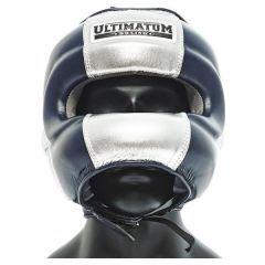 Боксерский шлем с бамперной защитой Ultimatum Gen3FaceBar Navy