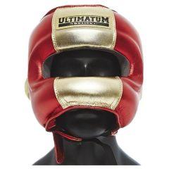 Боксерский шлем с бамперной защитой Ultimatum Gen3FaceBar Gold Rush