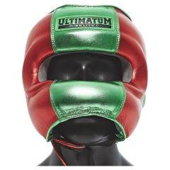 Боксерский шлем с бамперной защитой Ultimatum Gen3FaceBar Mexican Red
