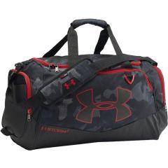 Спортивная сумка Under Armour Storm gray - red