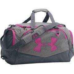 Спортивная сумка Under Armour Storm gray - pink
