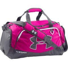 Спортивная сумка Under Armour Storm pink - gray