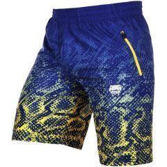 Спортивные шорты Venum Tropical blue - yellow