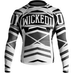 Рашгард Wicked One Stern black - white