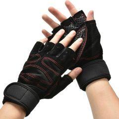 Перчатки для фитнеса RDX черные