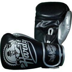 Боксерские перчатки Hardcore Training Mr.Hardy 16 Oz черный/серый