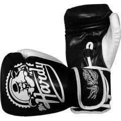 Боксерские перчатки Hardcore Training Mr.Hardy 14 Oz черный/белый