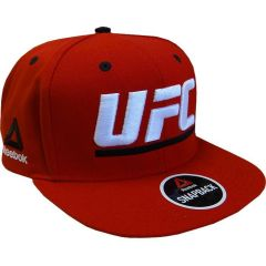 Бейсболка Reebok UFC красная
