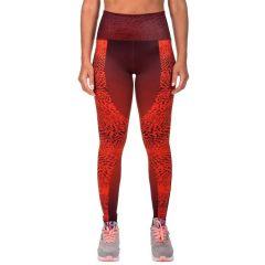 Женские компрессионные штаны Venum Dune - оранжевый/багровый