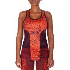 Тренировочная майка Venum Dune - оранжевый/багровый