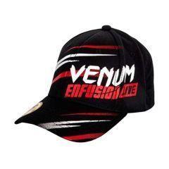Бейсболка (кепка) Venum Enfusion Live - черный/красный
