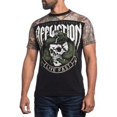 Футболка Affliction Swift&Silent