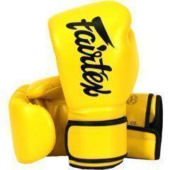 Боксерские перчатки Fairtex BGV-14 - желтый