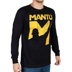 Лонгслив Manto Victory - черный
