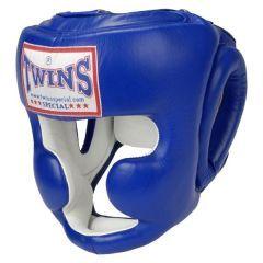 Боксерский шлем Twins Special HGL-3 Headguard - синий/белый