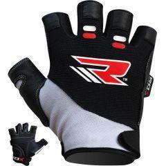 Перчатки для фитнеса RDX - черный/серый