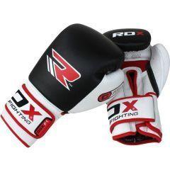 Боксерские перчатки RDX BGX F1 - черный/красный/белый
