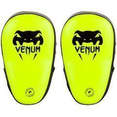 Тренерские лапы Venum Elite Big Focus Mitts - салатовый/черный