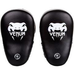 Тренерские лапы Venum Elite Big Focus Mitts - черный/серый
