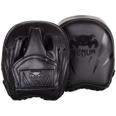 Тренерские боксерские лапы Venum Elite Mini Punch Mitts - черный