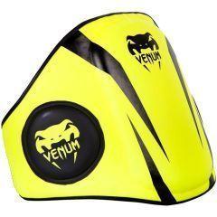 Тренерский пояс Venum Elite Belly Protector - салатовый/черный