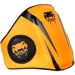 Тренерский пояс Venum Elite Belly Protector - оранжевый/черный