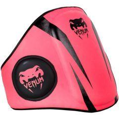 Тренерский пояс Venum Elite Belly Protector - розовый/черный