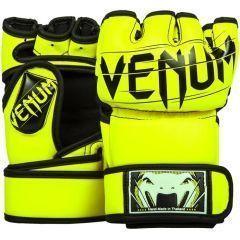 МMA перчатки Venum Undisputed 2.0 - салатовый/черный