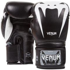 Боксерские перчатки Venum Giant 3.0 - черный/белый