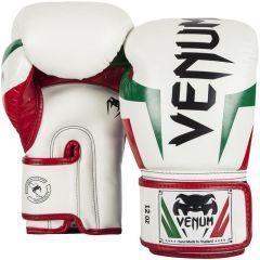 Боксерские перчатки Venum Elite Italy Boxing Gloves - белый