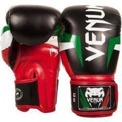 Боксерские перчатки Venum Elite Italy Boxing Gloves - черный