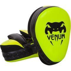 Тренерские боксерские лапы Venum Punch Mitts Cellular 2.0 - салатовый/черный