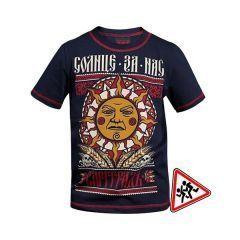 """Детская футболка Варгградъ """"Солнце за нас"""" тёмно-синяя"""