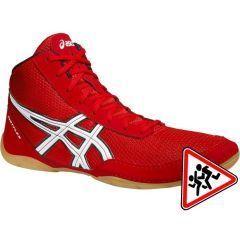 Детские борцовки Asics Matflex 5 - красный