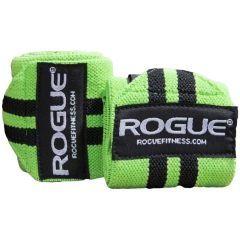 Кистевые бинты Rogue Wrist Wraps - салатовый/черный