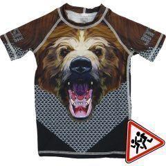 Детский рашгард Jitsu Медведь - короткий рукав