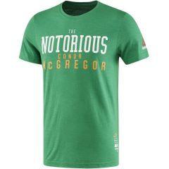 Футболка Reebok UFC McGregor - зеленая