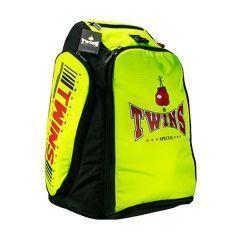 Универсальная сумка-рюкзак Twins - салатовый/черный