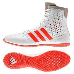 Боксёрки Adidas KO Legend 16.1 - оранжевый/белый