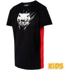 Детская футболка Venum Contender - черный/красный