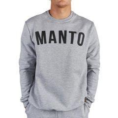 Свитшот Manto Classic Arc Melange - серый
