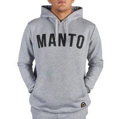 Худи Manto Classic Arc Melange - серый