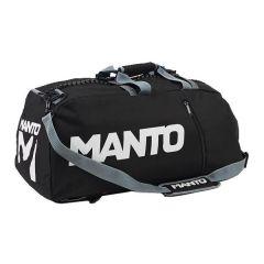 Спортивная сумка-рюкзак Manto Victory - черный/серый