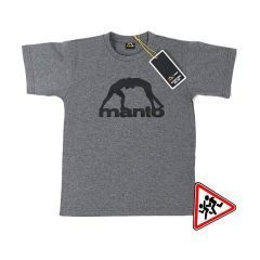 Детская футболка Manto Vibe - серый