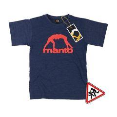 Детская футболка Manto Vibe - тёмно-синий