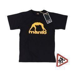 Детская футболка Manto Vibe - черный