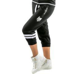 Женские спортивные капри Headrush Double Stripes - черный