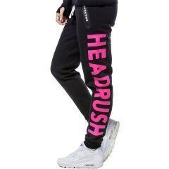 Женские спортивные штаны Headrush HR Interlock - черный/розовый